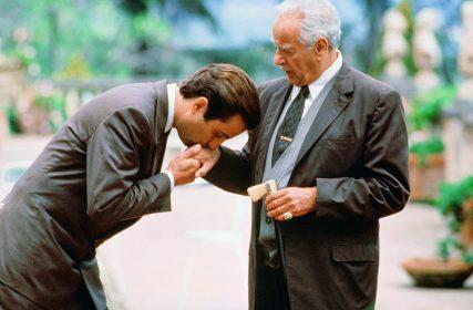 Andy Garcia et Eli Wallach dans Le Parrain, 3ème partie © Paramount Pictures
