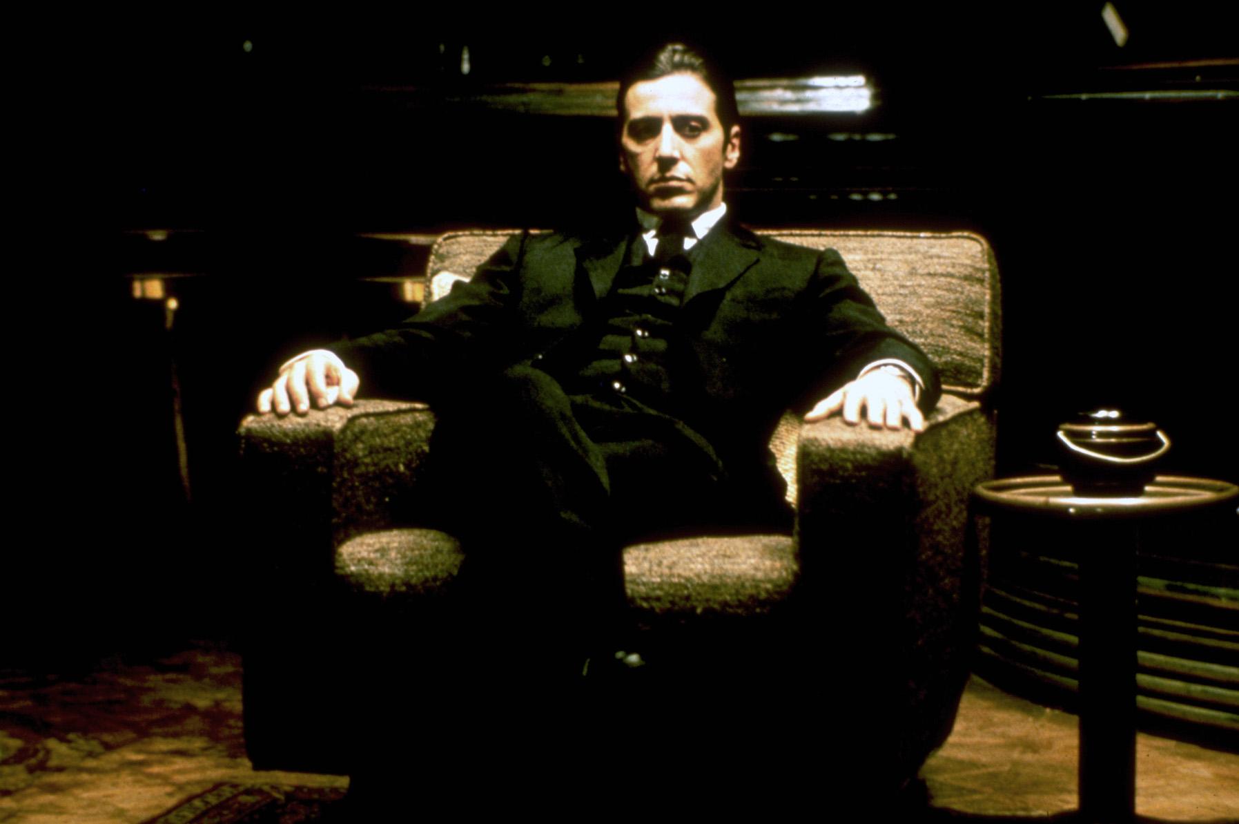 Robert De Niro dans Le Parrain, 2ème partie de Francis Ford Coppola © Paramount Pictures