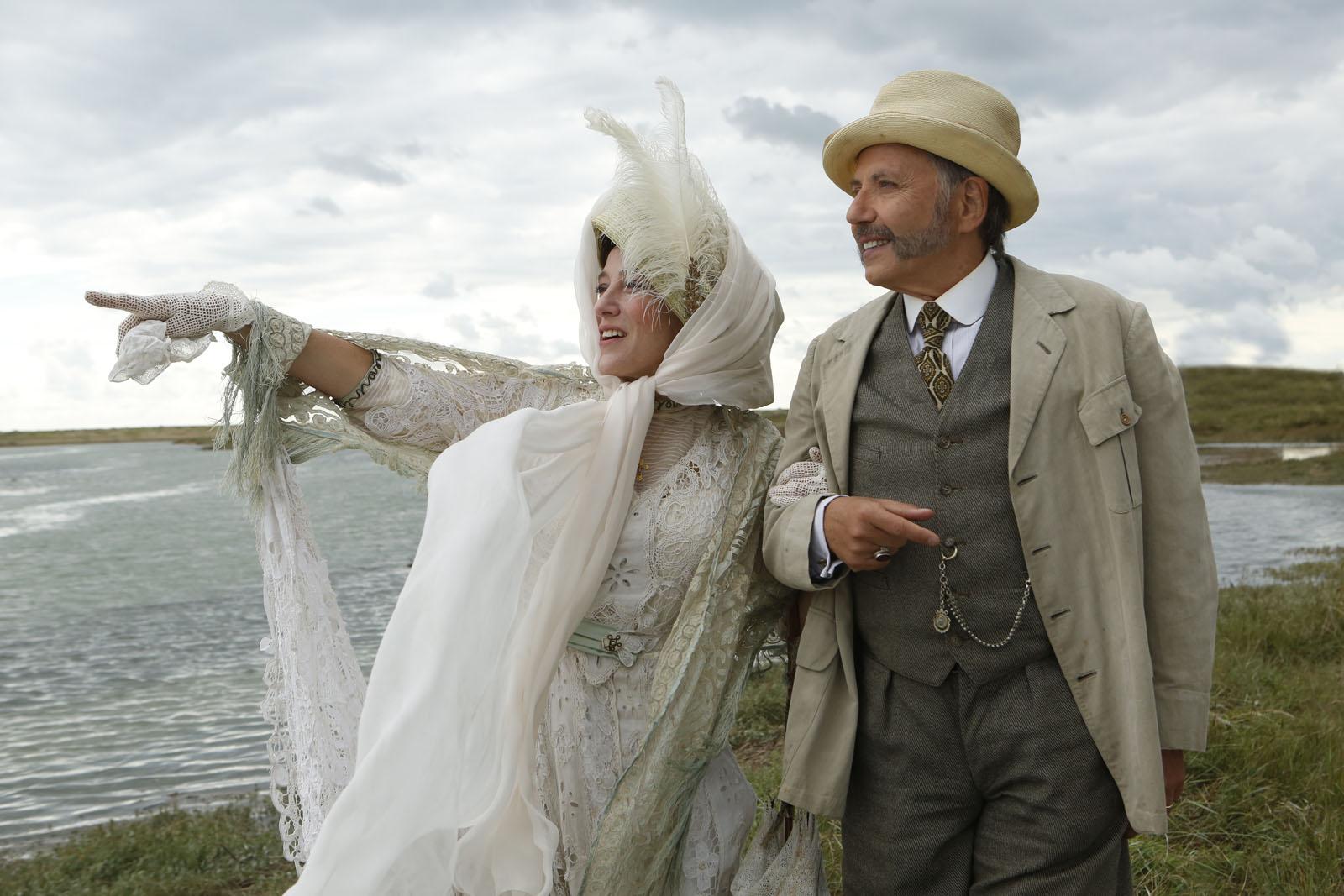 Valeria Bruni Tedeschi et Fabrice Luchini dans Ma Loute de Bruno Dumont