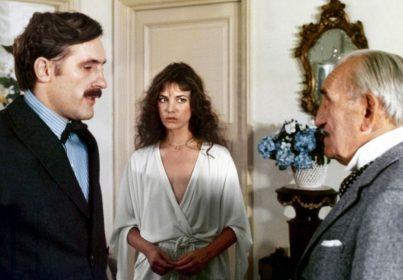 Gérard Depardieu, Jane Birkin et Charles Vanel dans Sept Morts sur ordonnance de Jacques Rouffio