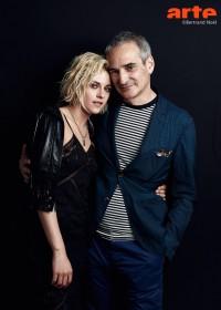 Kristen Stewart et Olivier Assayas © Bertrand Noël