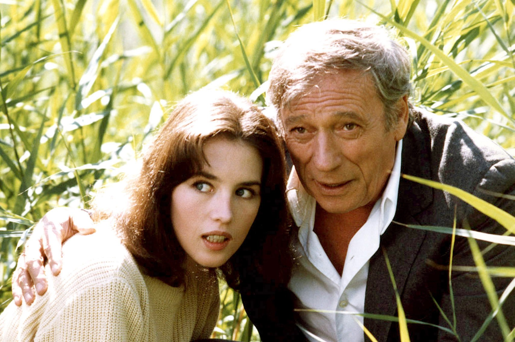 Isabelle Adjani, Yves Montand