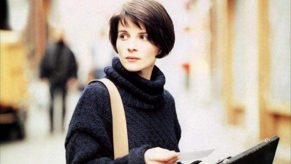 Juliette Binoche dans Trois Couleurs : rouge