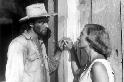 Gérard Philipe et Michèle Morgan dans Les Orgueilleux