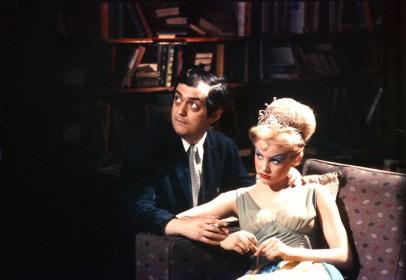 Stanley Kubrick et Sue Lyon sur le tournage de Lolita (GB/USA 1960-62); © The Stanley Kubrick Archive