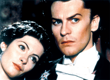 Sonia Petrovna et Helmut Berger dans Ludwig (1972)