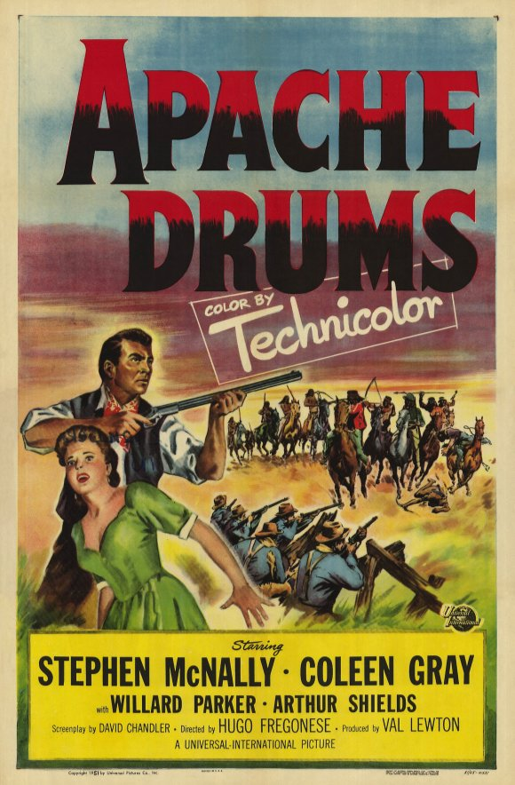 Affiche américaine de Quand les tambours s'arrêteront (1951)