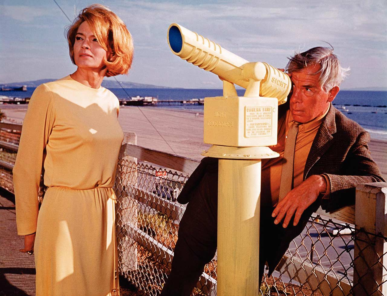 Angie Dickinson et Lee Marvin dans Le Point de non retour (1967)
