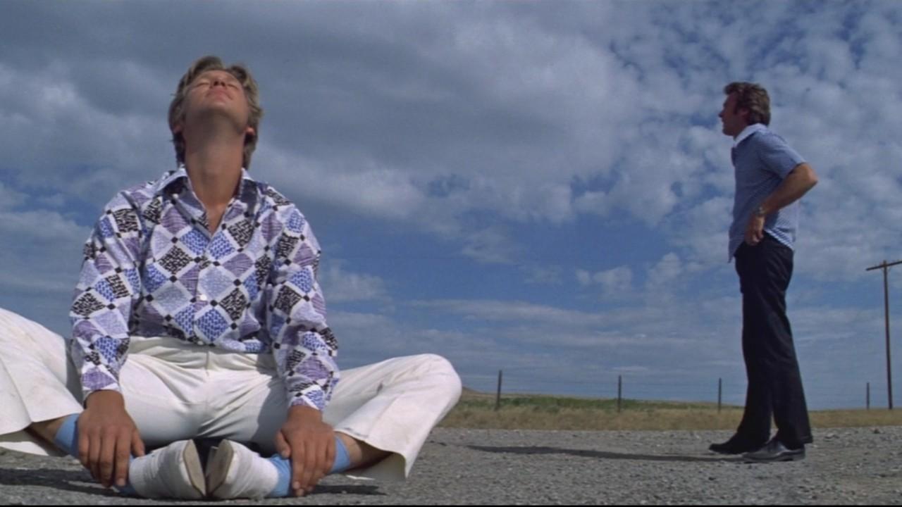 Jeff Bridges et Clint Eastwood dans Le Canardeur (1974)