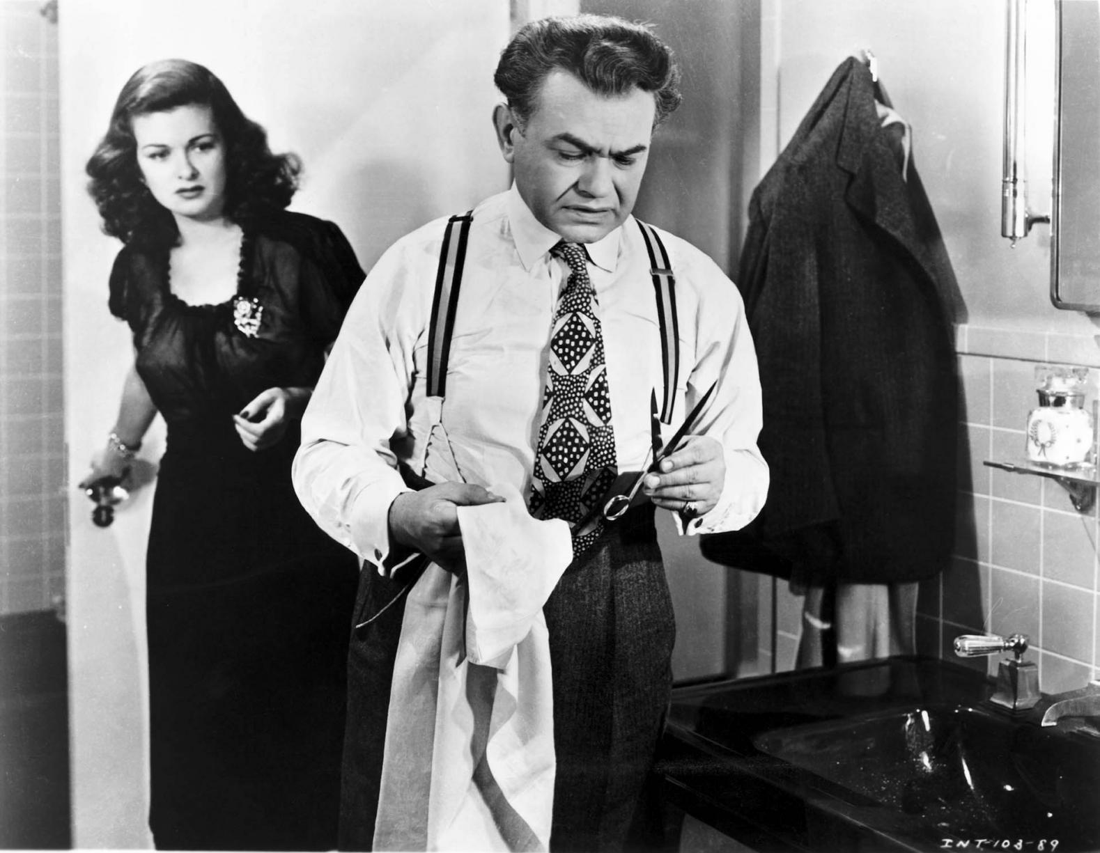 La Femme au portrait de Fritz Lang (1944)