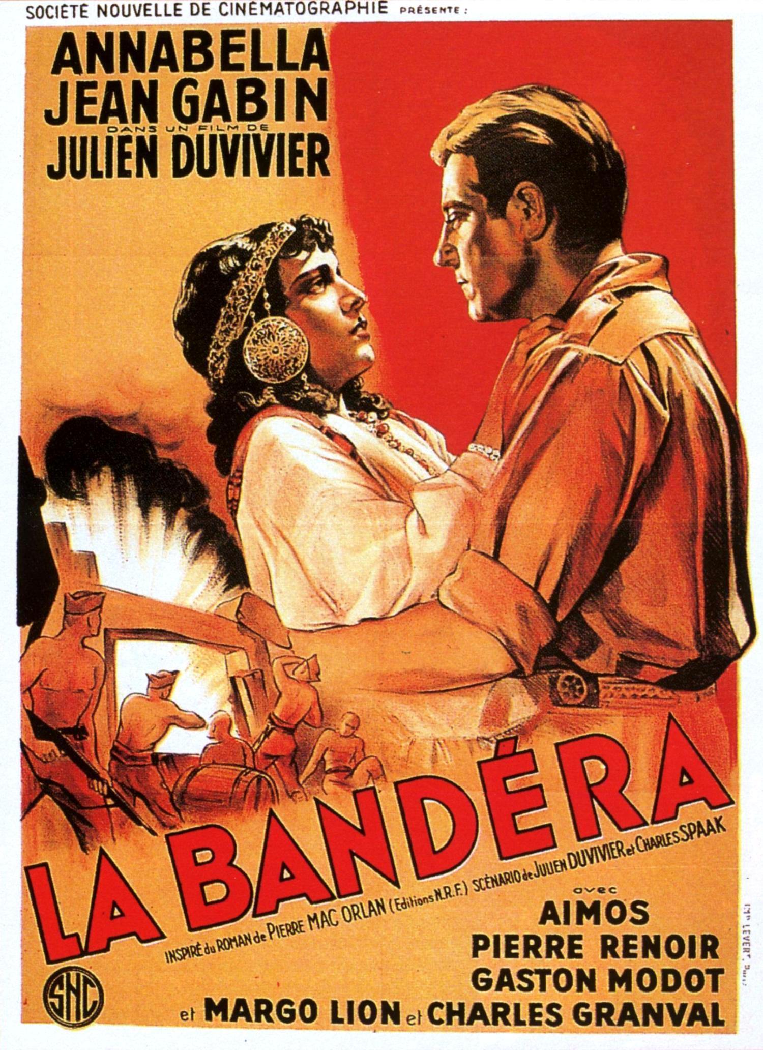 Affiche de La Bandera de Julien Duvivier (1935)