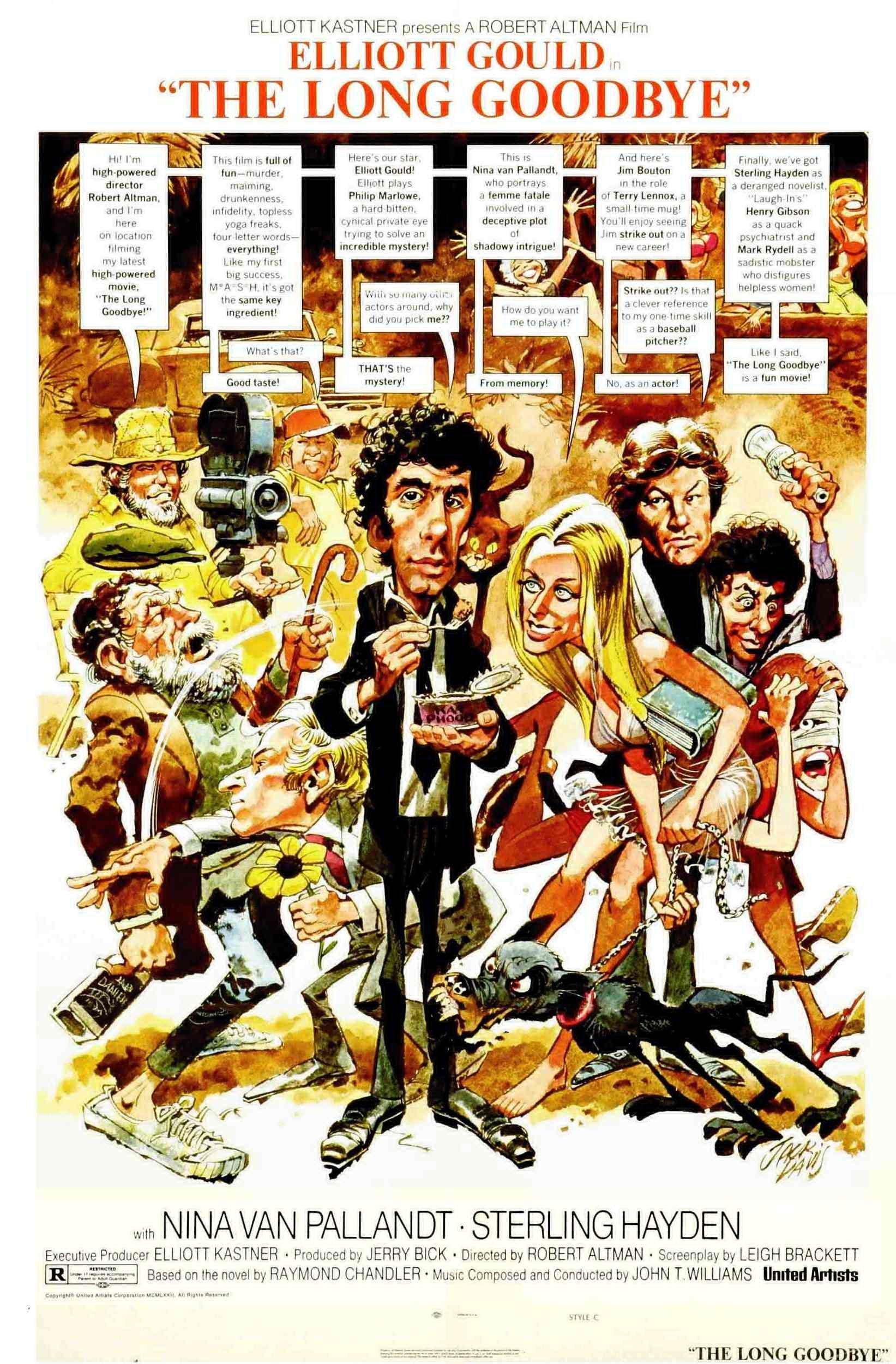 Affiche du Privé de Robert Altman (1973)