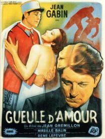 Affiche de Gueule d'amour (1937)