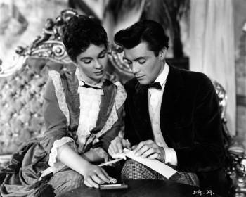 Jean Simmons et Dirk Bogarde dans Si Paris l'avait su (1950)