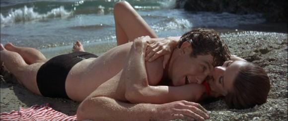 Audrey Hepburn et Albert Finney dans Voyage à deux (1967)