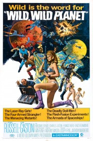 Affiche américaine de I criminali della galassia (1965)