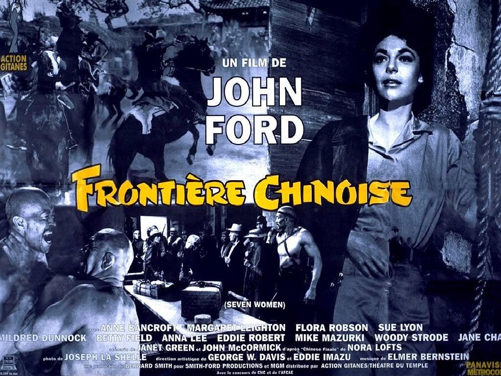 Affiche de la ressortie française de Frontière chinoise (1966)