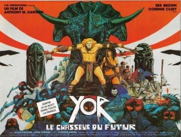 Affiche française de Yor, le chasseur du futur (1983)