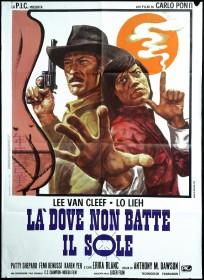 Affiche italienne de La Brute, le Colt et le Karaté (1974)