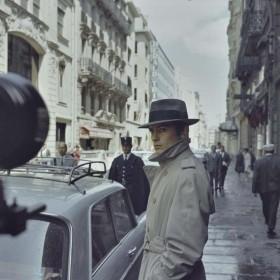 Alain Delon dans Le Samouraï (1967)