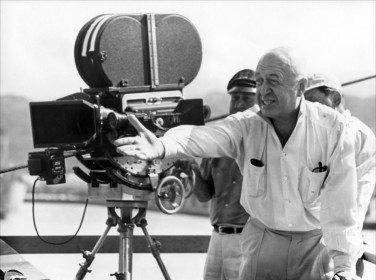 Otto Preminger sur le tournage de Première Victoire (1965)