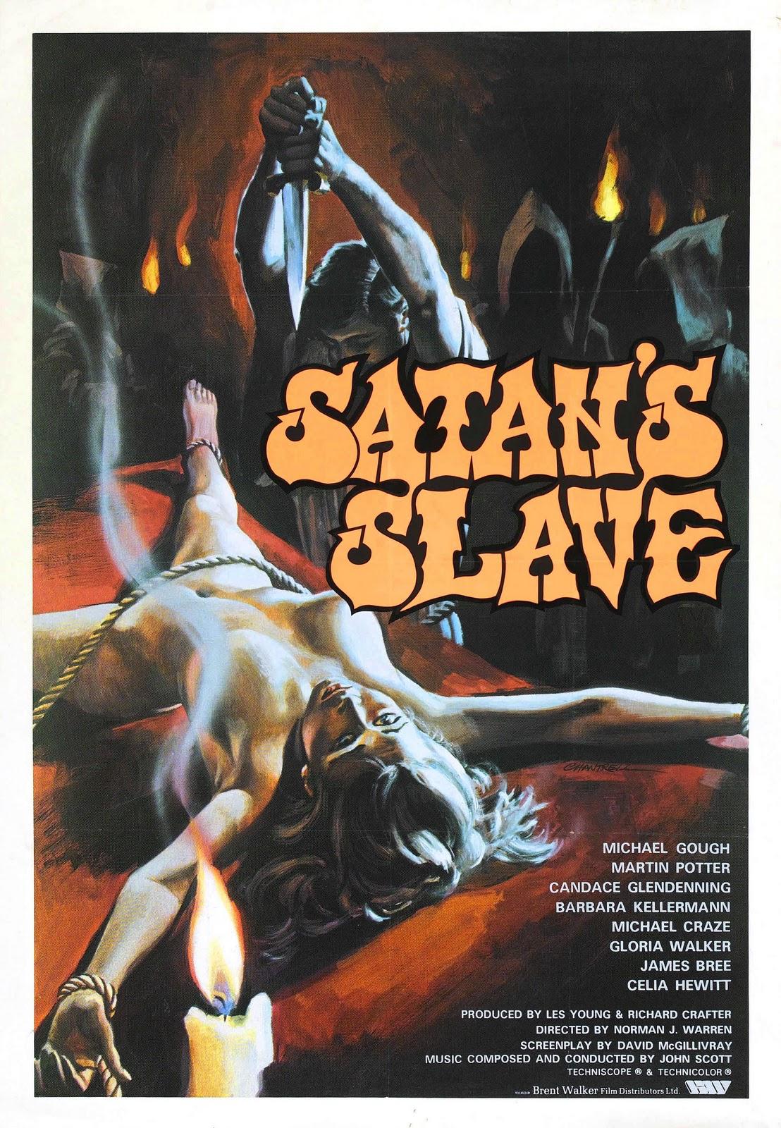 Affiche anglaise de L'Esclave de Satan (1976)