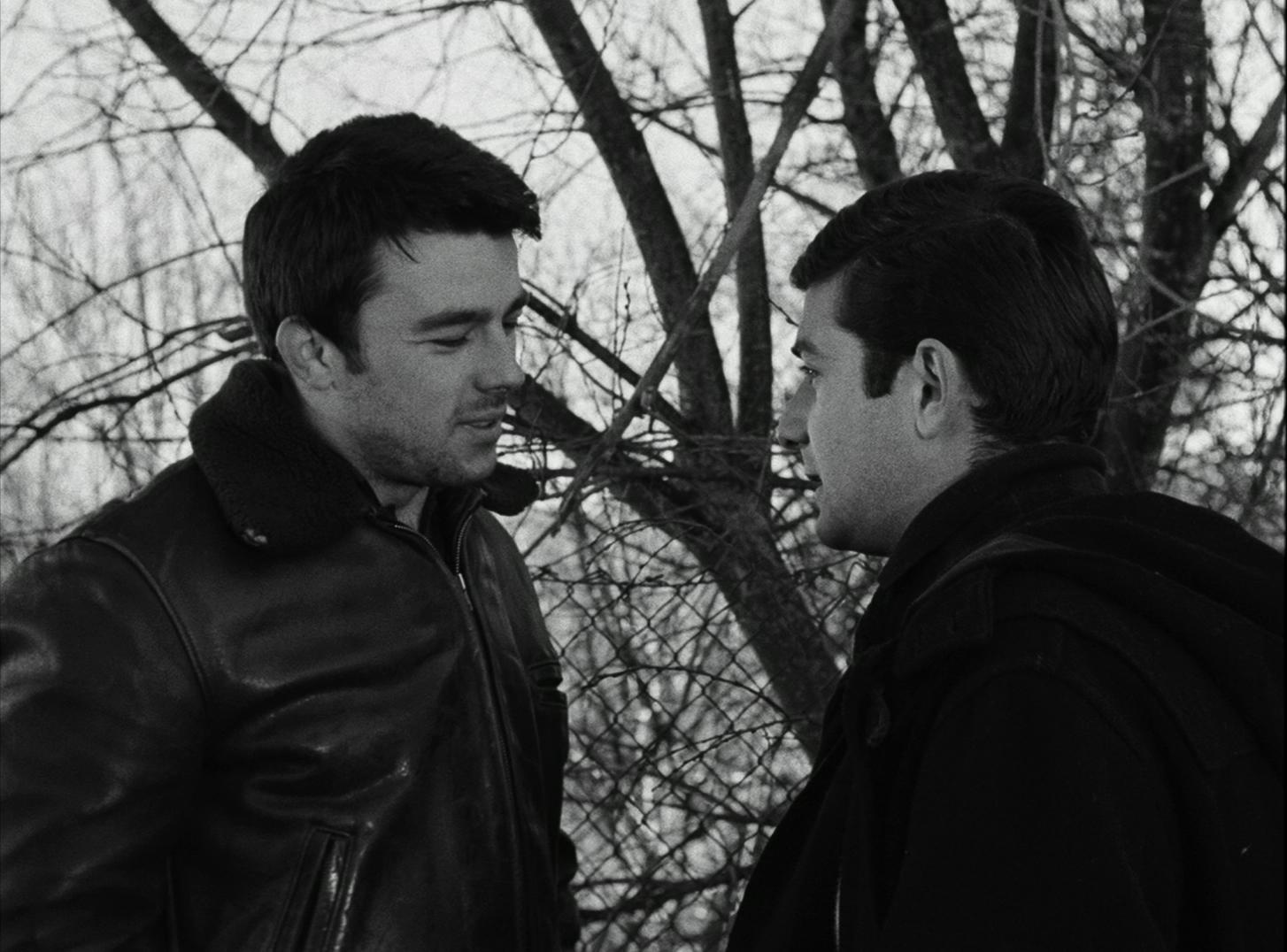 Gérard Blain et Jean-Claude Brialy dans Le Beau Serge (1958)