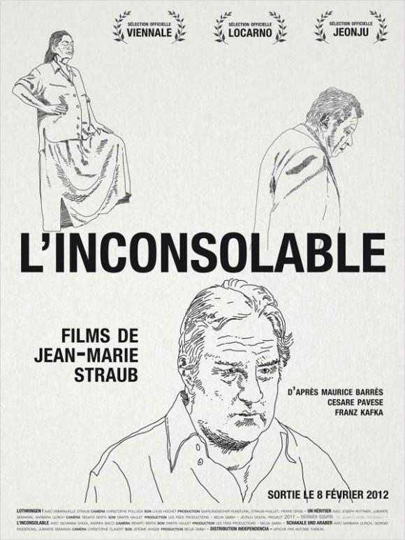 Affiche de L'Inconsolable de Jean-Marie Straub