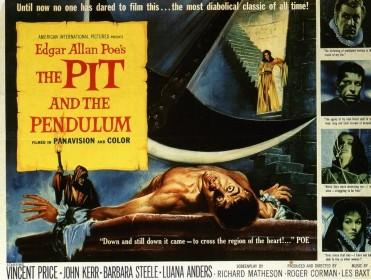 Affiche américaine de La Chambre des tortures (1961)