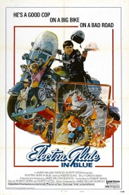 Affiche américaine d'Electra Glide in Blue (1973)