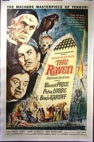Affiche américaine du Corbeau (1963)