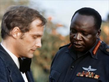 Barbet Schroeder sur le tournage de Général Idi Amin Dada (1974)