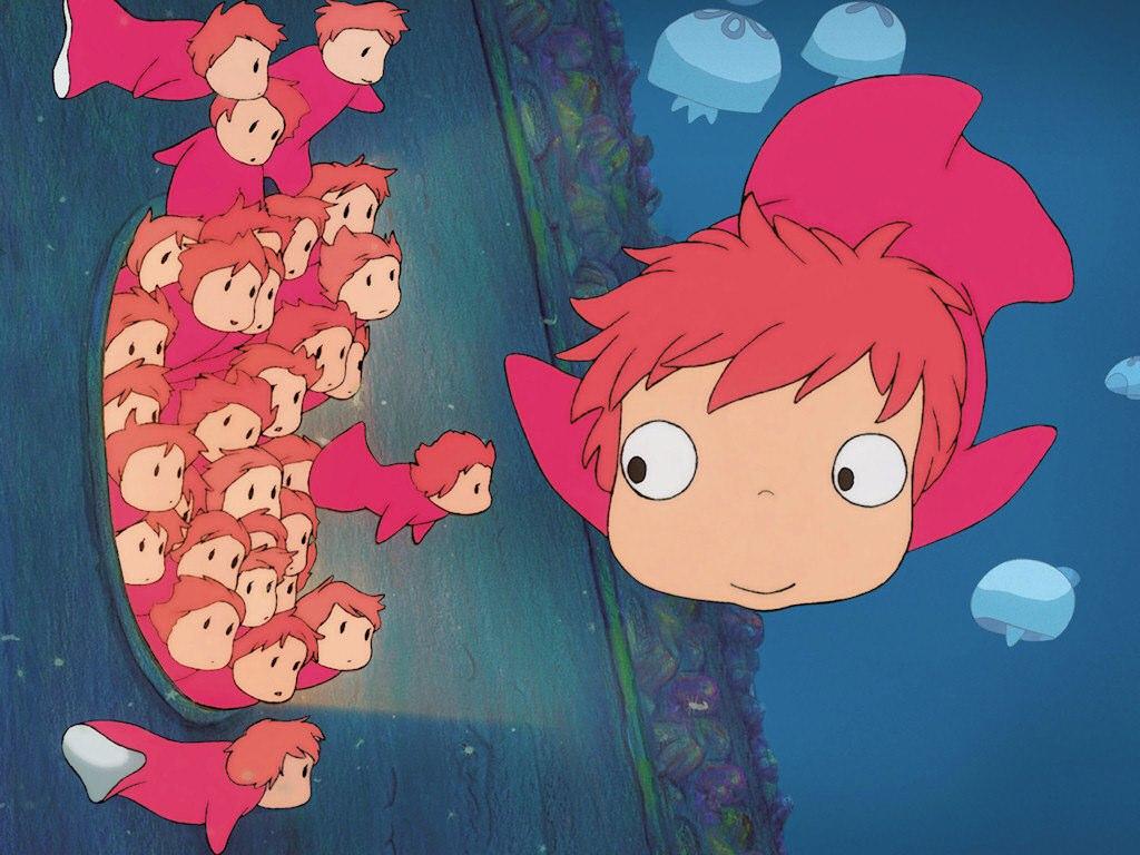 Ponyo sur la falaise (2008)