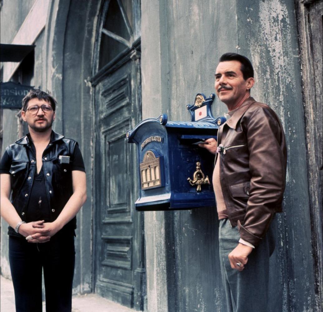 RWF et Dirk Bogarde sur le tournage de Despair