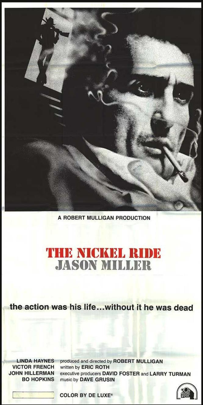 Affiche américaine de The Nickel Ride