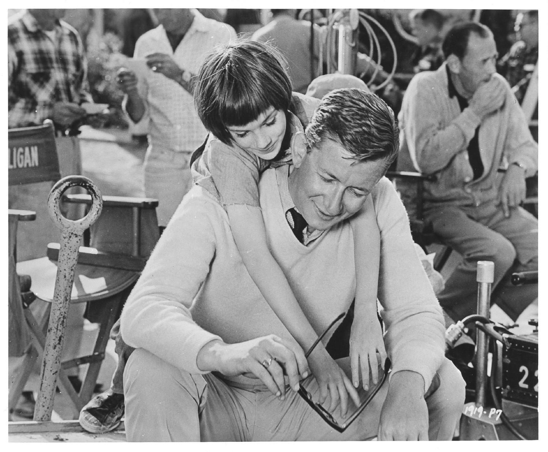 Robert Mulligan sur le tournage de Du silence et des ombres (1962)