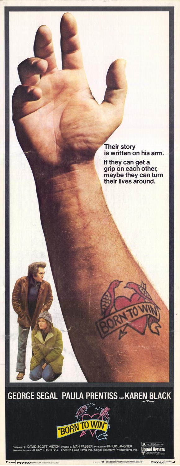 Affiche américaine de Born to Win