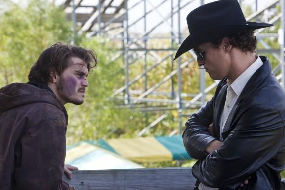 Emile Hirsch et Matthew McConaughey dans Killer Joe