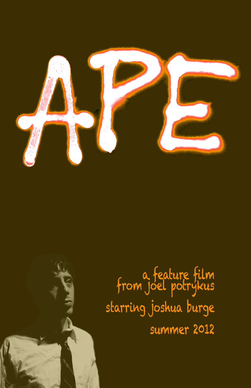 Affiche américaine de Ape