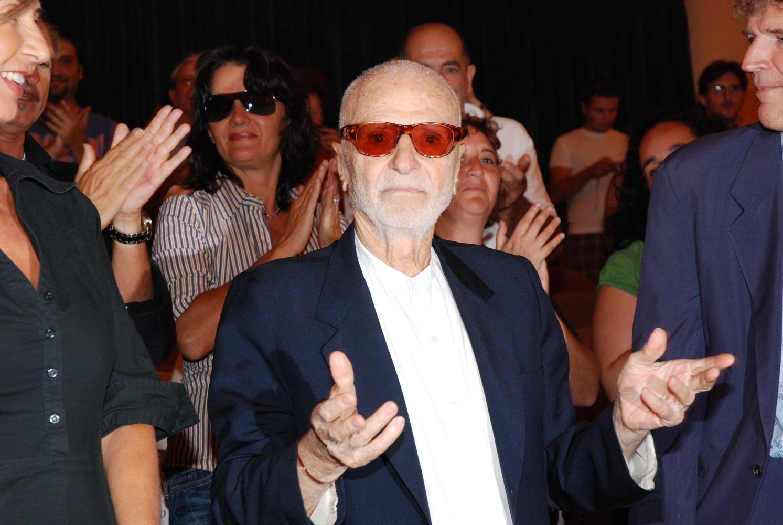 Mario Monicelli à la 65e Mostra internazionale d'arte cinematografica de Venise en 2008