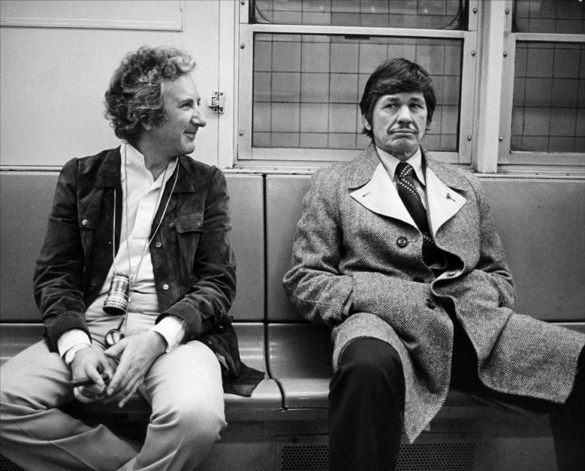 Michael Winner et Charles Bronson sur le tournage d'Un justicier dans la ville