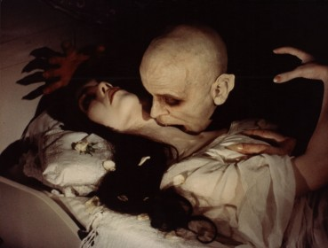 Isabelle Adjani et Klaus Kinski dans Nosferatu, fantôme de la nuit de Werner Herzog