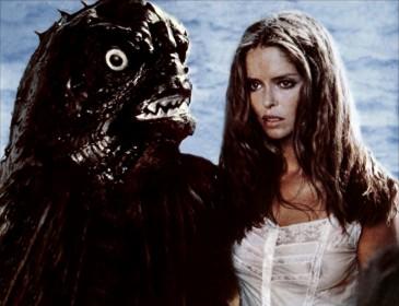Le Continent des hommes poissons avec Barbara Bach (à droite sur la photo)
