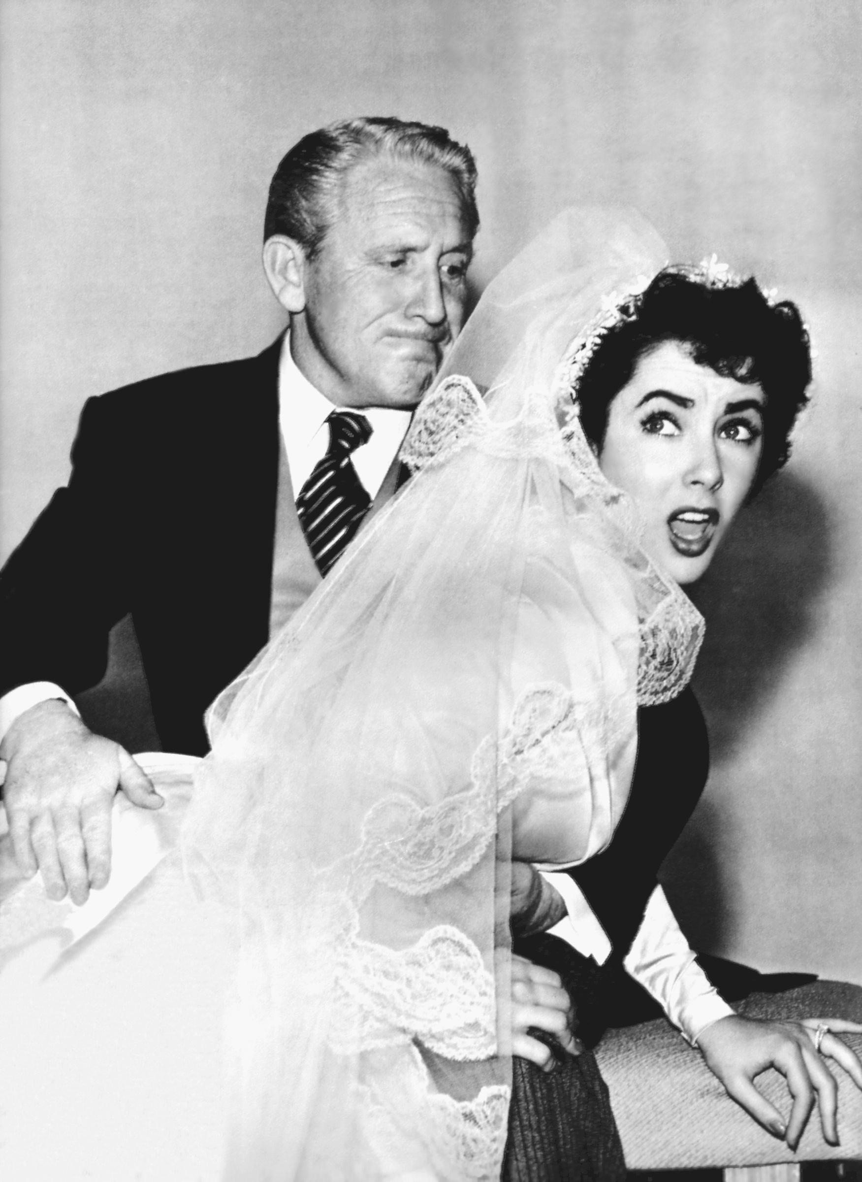 Avec Spencer Tracy dans Le Père de la mariée