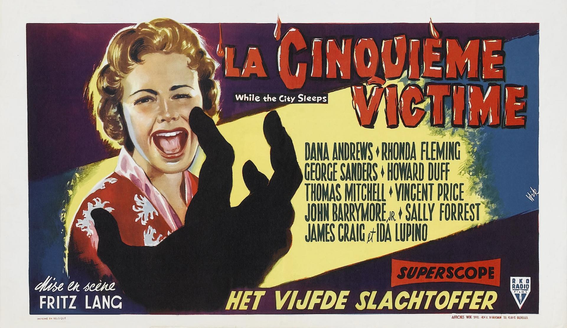 Affiche de La Cinquième Victime