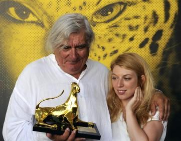 Jean-Claude Brisseau et Virginie Legeay au Festival del film Locarno