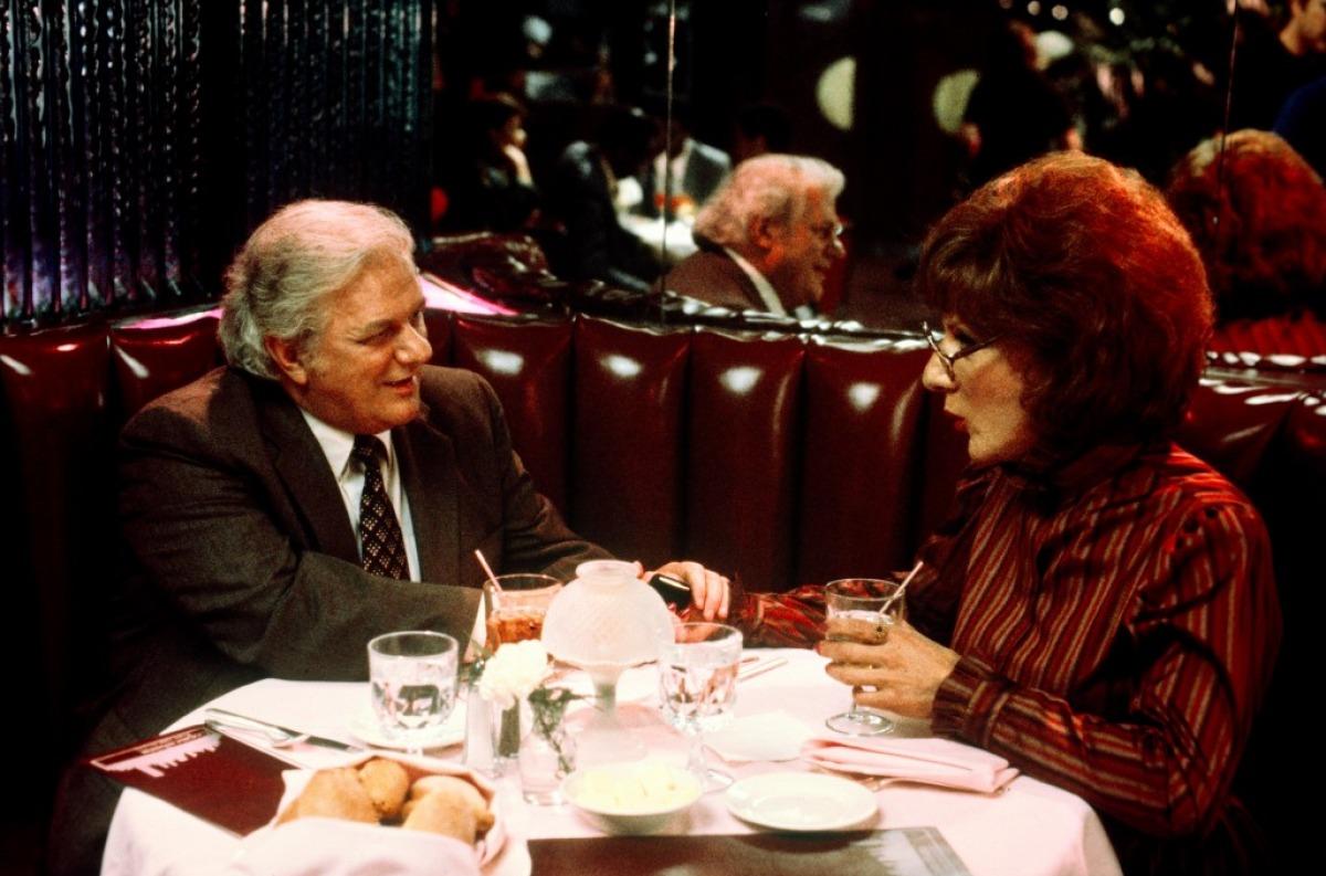 Charles Durning avec Dustin Hoffman dans Tootsie