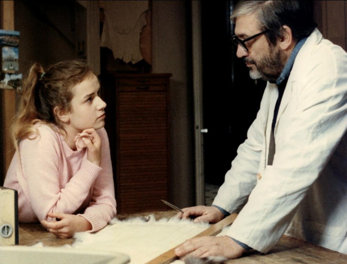 Après le couple, la famille. Une fille et son père, une actrice débutante et son réalisateur, également acteur. Sandrine Bonnaire et Maurice Pialat dans A nos amours
