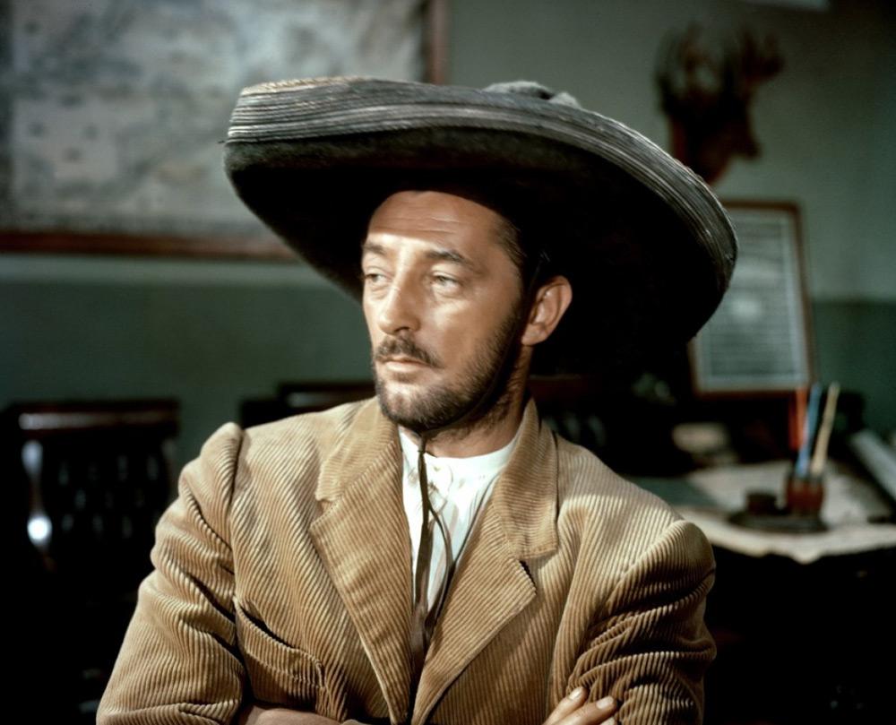 Robert Mitchum dans L'Aventurier du Rio Grande de Robert Parrish
