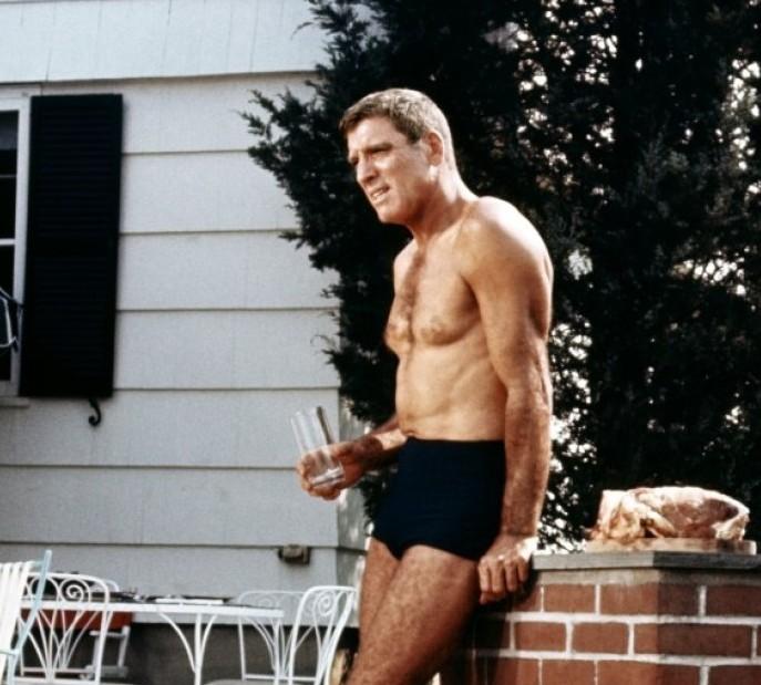 Burt Lancaster dans The Swimmer